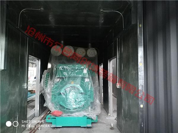 内蒙发电机集装箱